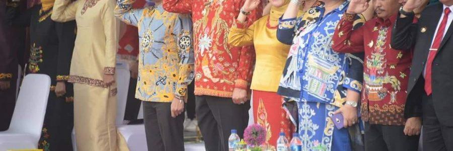 Wakil Bupati Bartim Hadiri Hut Kabupaten Gunung Mas