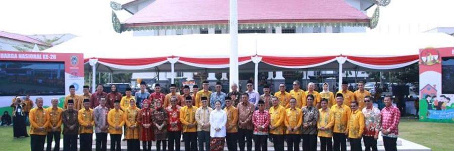 Meskipun Presiden Tidak Hadir, Acara HARGANAS XXVI 2019 Tetap Di Sambut Antusias Puluhan Ribu Manusia Dari Segala Penjuru Kalimantan