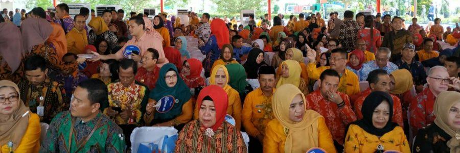 Wakil Bupati Barito Timur Ikut Memperingati HARGANAS XXVI 2019 Di Kalsel