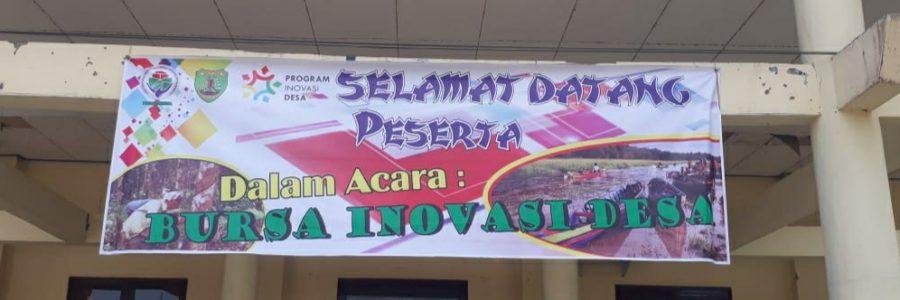 Bupati Bartim Tegaskan Untuk Maanfaatkan Inovasi Desa Sebagai Sumber Ekonomi
