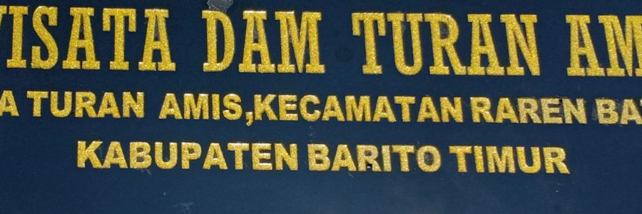 Bupati Barito Timur Resmikan Objek Wisata Dam Turan Amis