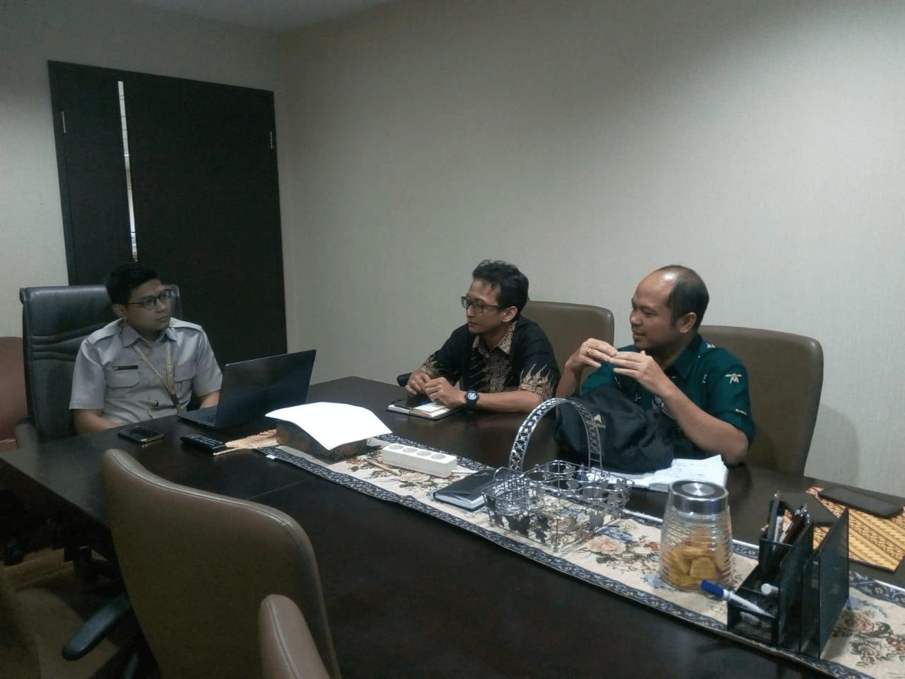 Diskominfo dan BKPSDM Kab. Barito Timur Koordinasi Implementasi E-Kinerja ke BKN
