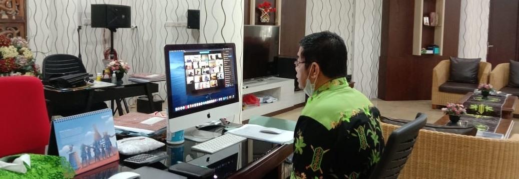 Rakor Tim Gugus Penanganan COVID-19 Kabupaten Barito Timur